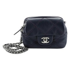 Chanel Wallet on Chain Flap Bag Quilted Calfskin Mini