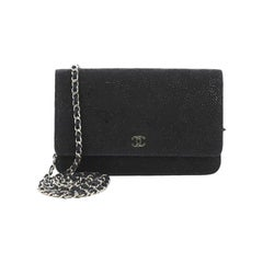 Chanel Wallet on Chain Lace Leather