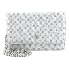 Chanel Wallet on Chain Perforated Leather