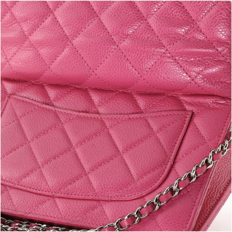 Chanel Wallet on Chain Quilted Caviar For Sale 4