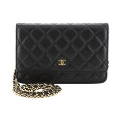 Chanel Wallet On Chain Quilted Caviar