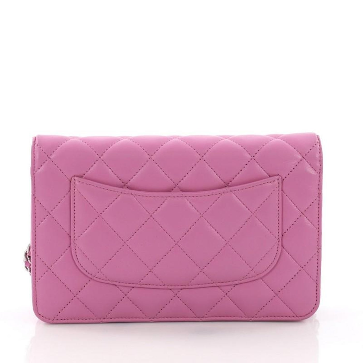 37a52df46ebb2a Chanel Wallet on Chain Quilted Lambskin at 1stdibs