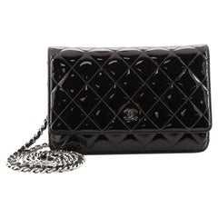 Chanel Wallet on Chain Quilted Patent