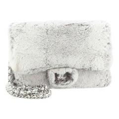 Chanel Wallet on Chain Rex Rabbit Fur