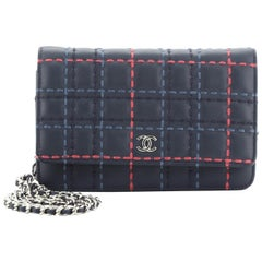 Chanel Wallet on Chain Stitched Lambskin
