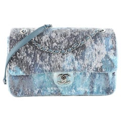 Chanel Waterfall CC Flap Bag Sequins Large