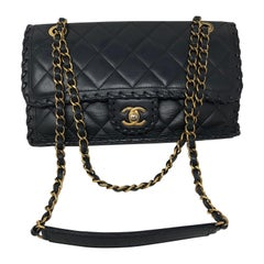 Chanel Whipstitch Classic Flap Bag