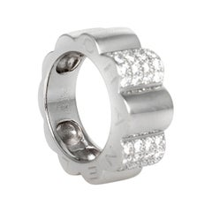 Chanel White Gold and Diamond Ring