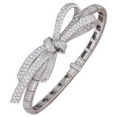 Chanel White Gold Diamond Ruban Bracelet J3882