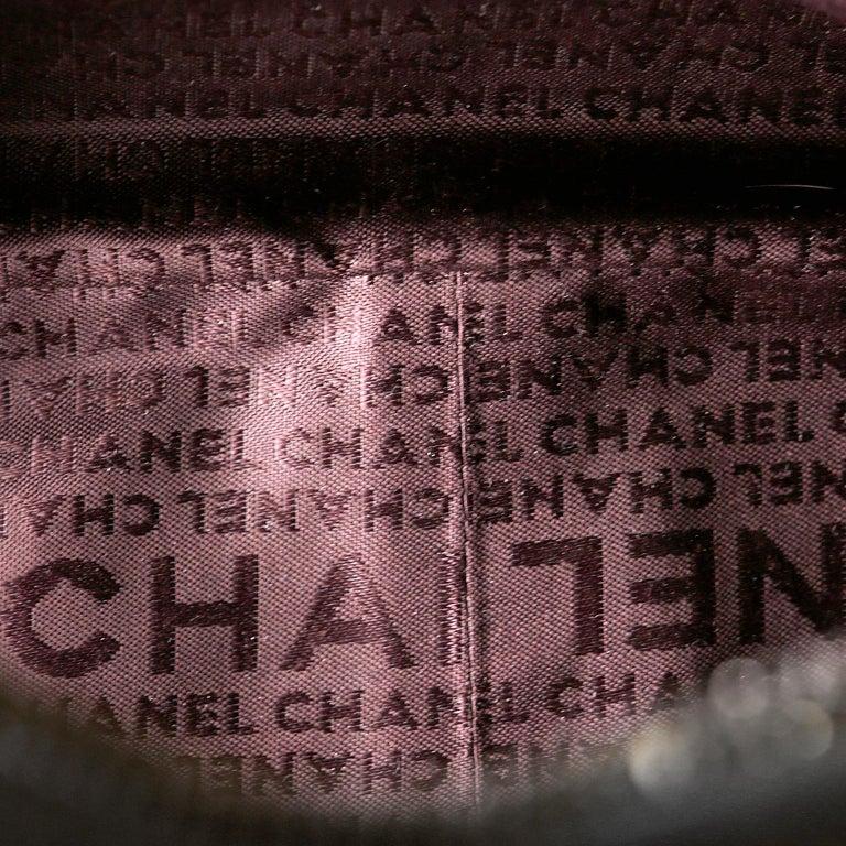 Chanel White Leather Tassel Shoulder Bag For Sale 6