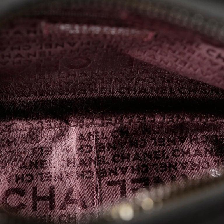 Chanel White Leather Tassel Shoulder Bag For Sale 7