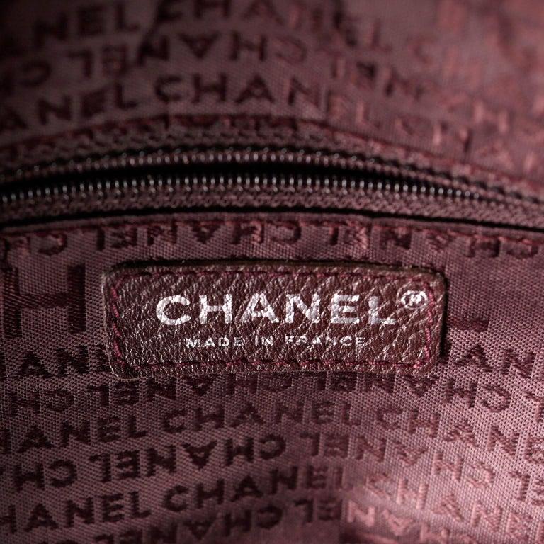 Chanel White Leather Tassel Shoulder Bag For Sale 8