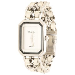 Chanel White Mother of Pearl  Premiere H1639 Women's Wristwatch 20 mm