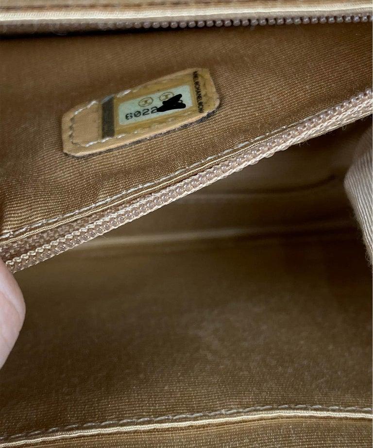 Chanel Wicker Flap Bag 2000-2002  For Sale 5