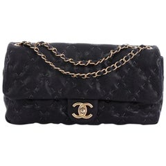 Chanel Wild Stitch Flap Bag Quilted Caviar Large