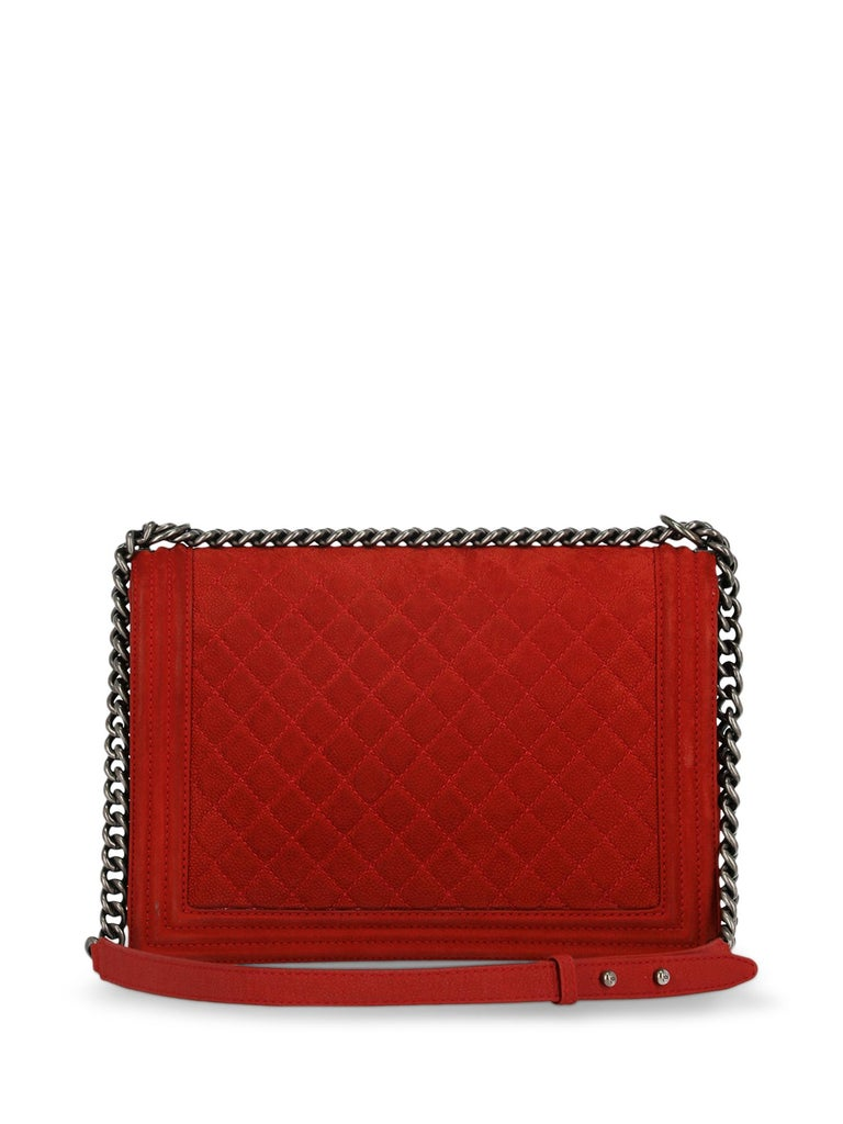 Women's Chanel Woman Boy Red  For Sale