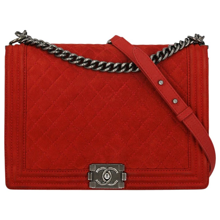Chanel Woman Boy Red  For Sale