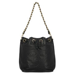 Chanel Woman Bucket bag Navy