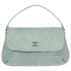 Chanel Woman Hobo bag Blue