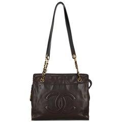 Chanel Woman Shoulder bag Brown