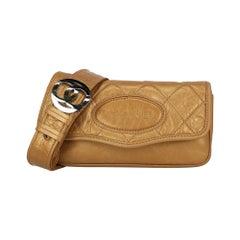 Chanel Woman Shoulder bag  Gold Leather