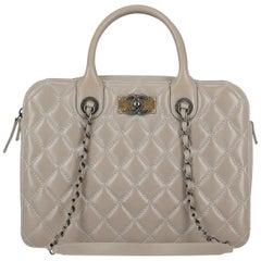 Chanel Woman Shoulder bag Grey