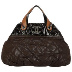 Chanel Woman Tote bag Brown