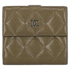 Chanel Woman Wallet Khaki