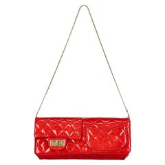 Chanel Women  Shoulder bags Red Leather