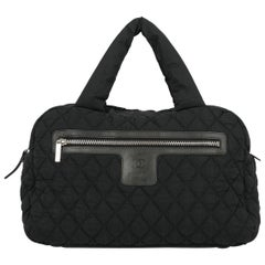 Chanel Women's Handbag Coco Cocoon Black
