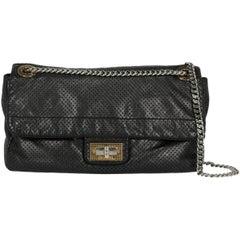 Chanel Women's Shoulder Bag Black Leather