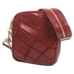 CHANEL Womens shoulder bag Bordeaux