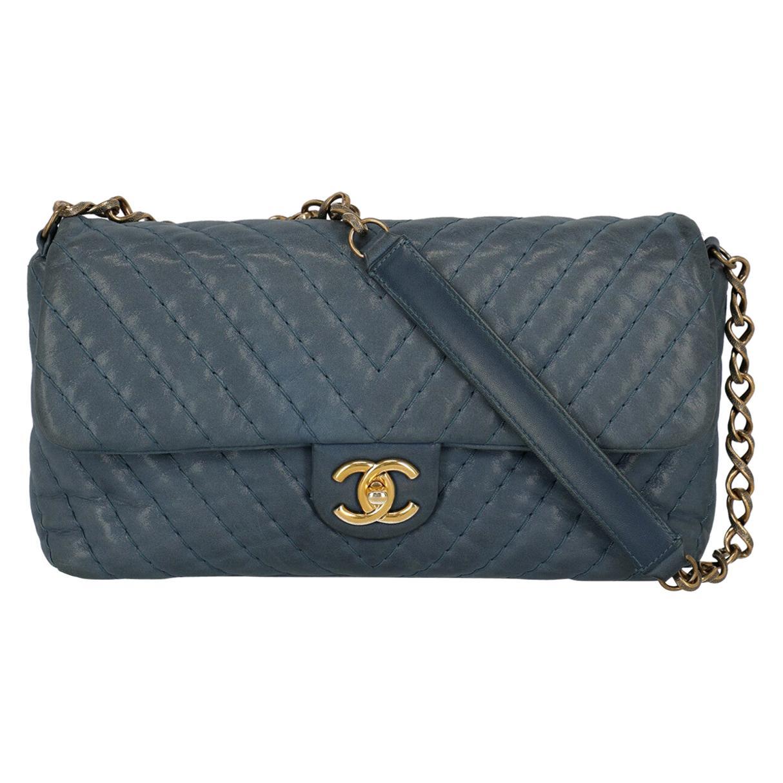 Chanel Women's Timeless Blue Fabric