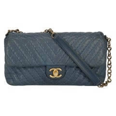 Chanel Women's Timeless Blue Fabric