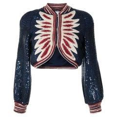 Chanel Wool 2014 Pre-Fall Paris Dallas Cropped Cardigan