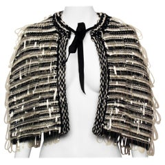 CHANEL Wool Cape