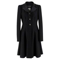 Chanel wool & cashmere-blend A-line coat FR 38