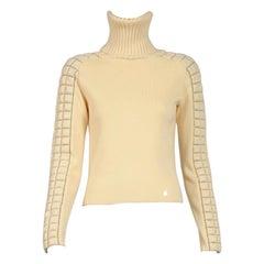 Chanel Wool Turtleneck Sweater, Fall-Winter 2000-2001