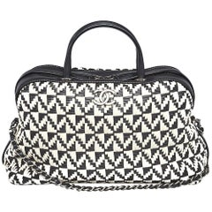 Chanel Woven Bowling Bag