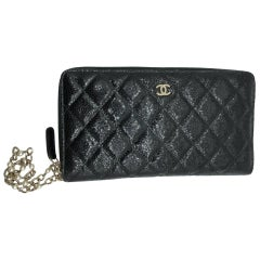 Chanel Wristlet Clutch/Travel Wallet