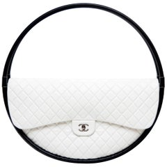 Chanel X-Large Art Piece For Display Only Hula Hoop Runway  Bag Limited 2013 NEW