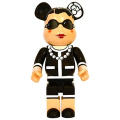 Chanel x Medicom Bearbrick 1000% Limited Edition Nr 206 KARL LAGERFELD