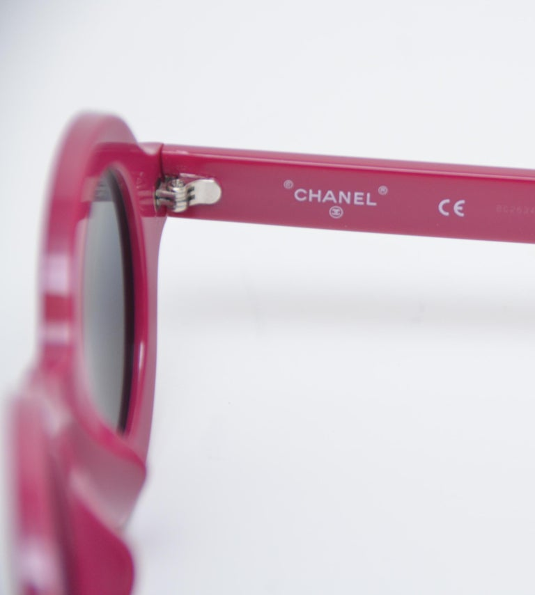 f90a0823b9 Purple Chanel x Pharrell Capsule Collection Violet Sunglasses NEW For Sale