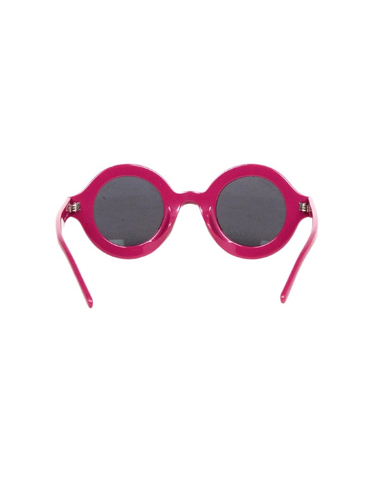 Women's or Men's Chanel x Pharrell Williams NEW SOLD OUT 2019 Round Frame Violet Sunglasses For Sale