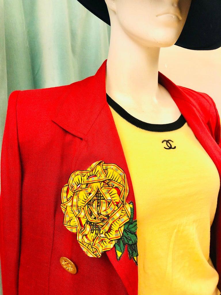 Women's or Men's Chanel Yellow