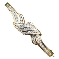 Channel 1.30 Carat Diamond Bracelet