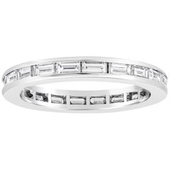 Roman Malakov, Channel Set Horizontal Baguette Diamond Eternity Wedding Band