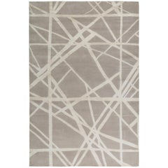 Channels Rug in Hand Knotted Wool and Silk by Kelly Wearstler