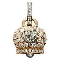 Chantecler Campanella 18k Gold & Diamond Charm, Exclusively at Hamilton Jewelers