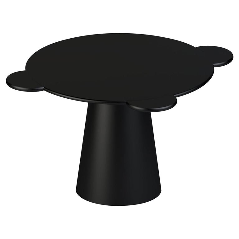 Contemporary Table Donald Black Wood by Chapel Petrassi For Sale